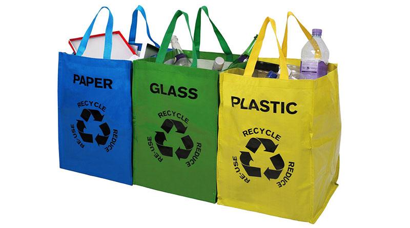 bolsas para reciclar en casa