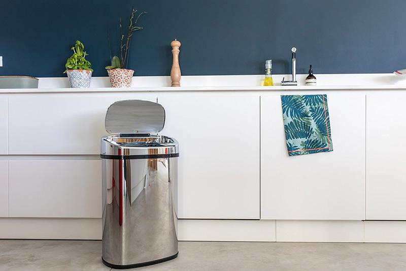 cubos basura cocina reciclaje